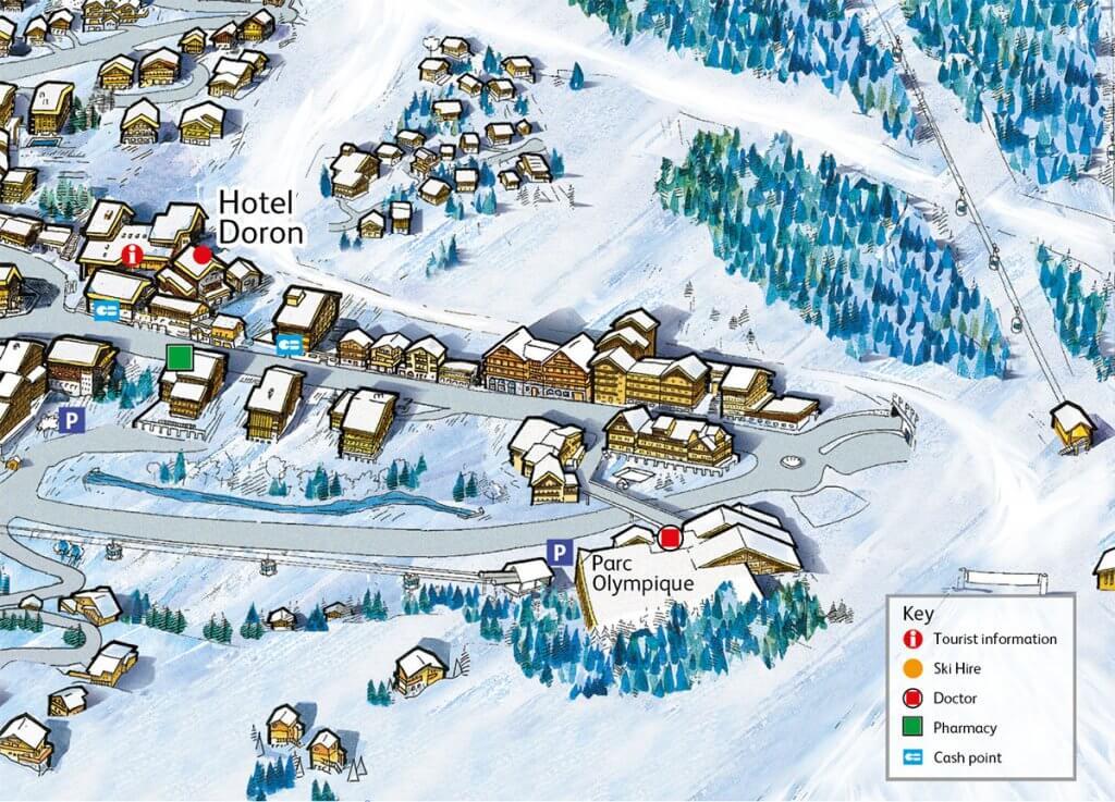Doron Hotel Location Map